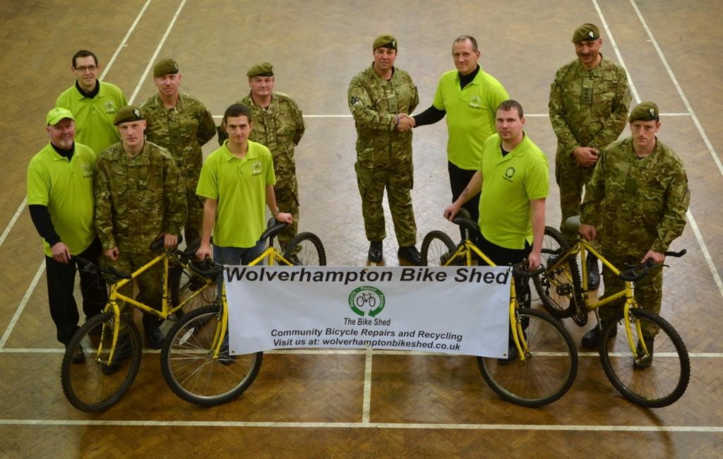 Wolverhampton TA Donate Bikes