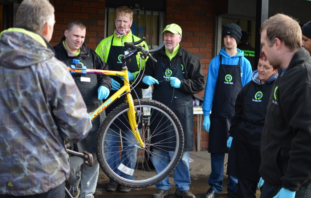 Cycle Maintenance Course – April 2014