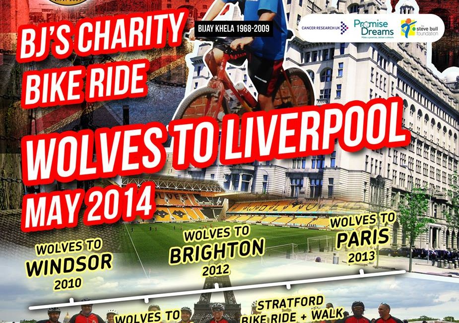 BJ's charity ride 2014