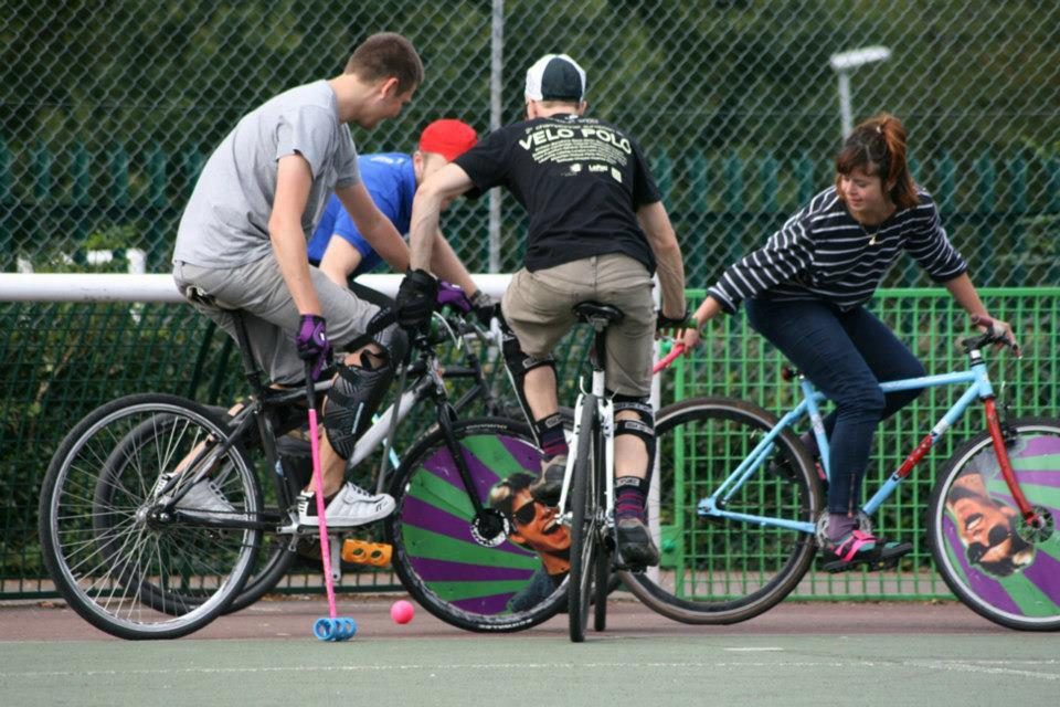 Join us for Bike Polo